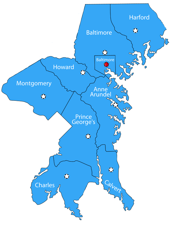 Maryland's Counties